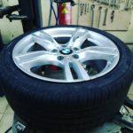 монтаж покрышки BMW ранфлет