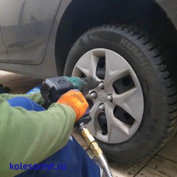 применение пневмоинструмента